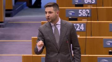 Patryk Jaki w PE