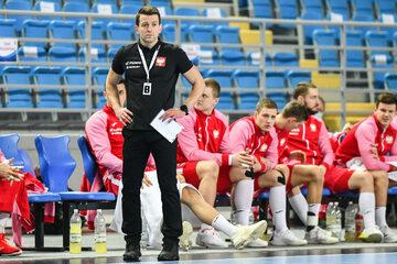 Patryk Rombel i jego drużyna
