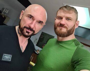 Patryk Vega i Jan Błachowicz