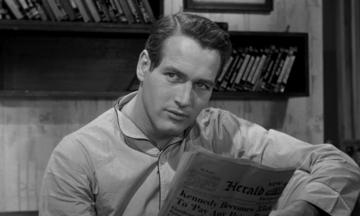 "Paul Newman w filmie ""Paryski blues"" (1961)"