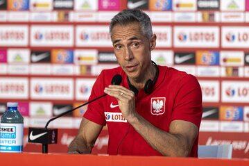 Paulo Sousa podczas konferencji