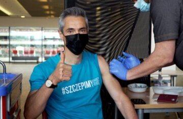 Paulo Sousa zaszczepiony przeciwko koronawirusowi
