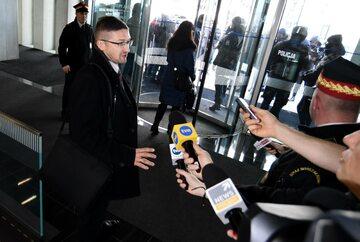 Paweł Juszczyszyn w Kancelarii Sejmu RP