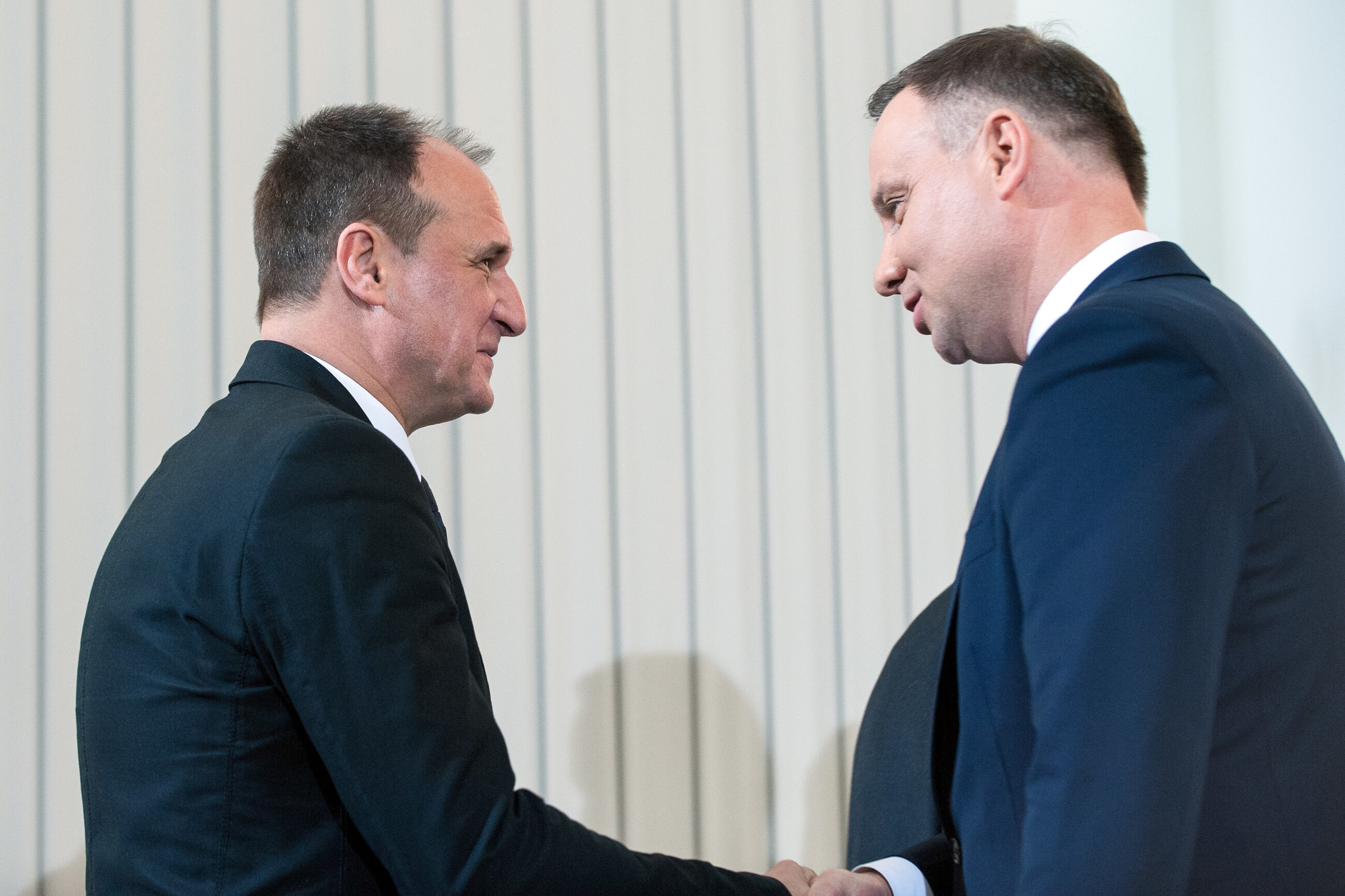 Paweł Kukiz i Andrzej Duda