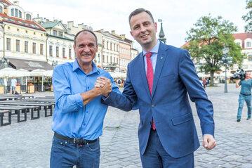 Paweł Kukiz i Władysław Kosiniak-Kamysz