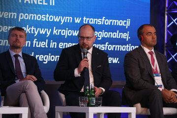 Paweł Majewski, Prezes Zarządu PGNiG, podczas konferencji Gazterm 2021