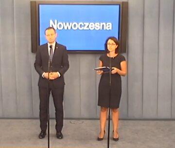Paweł Rabiej i Kamila Gasiuk - Pihowicz