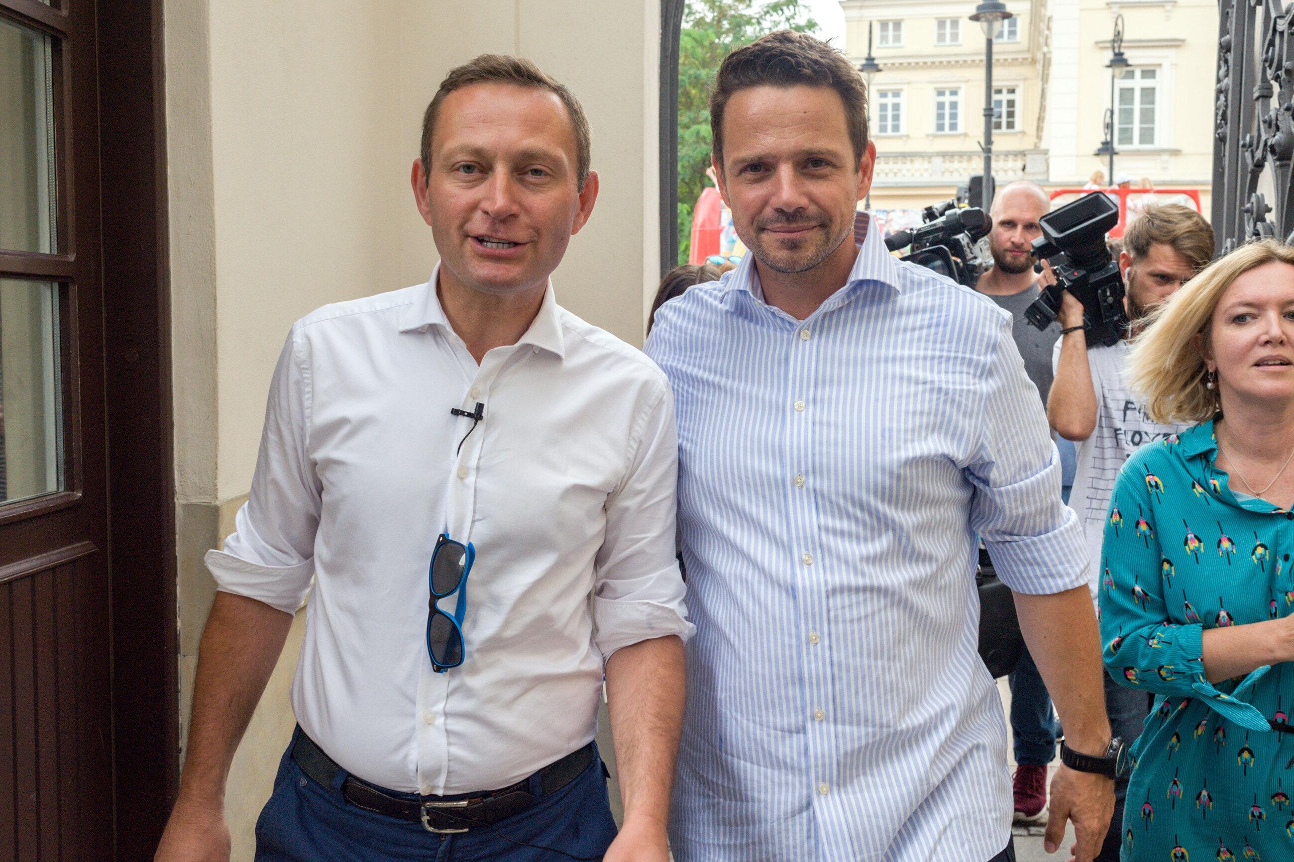Paweł Rabiej i Rafał Trzaskowski