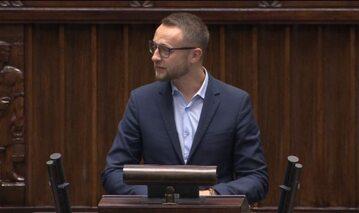 Paweł Szramka w Sejmie