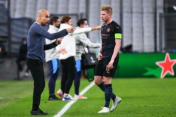 Pep Guardiola i Kevin de Bruyne