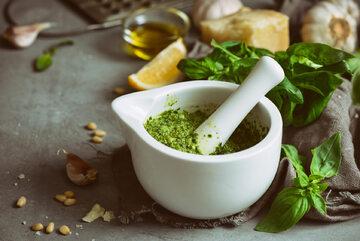 Pesto, zdjęcie ilustracyjne