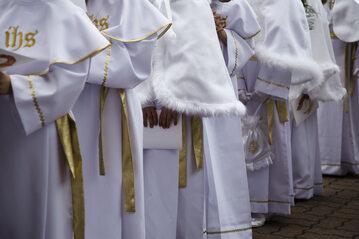 Pierwsza komunia święta, zdj. ilustracyjne