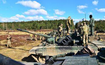 Pierwsze wspólne szkolenie Batalionowej Grupy Bojowej NATO w Polsce