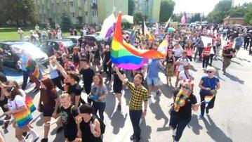 Pierwszy Marsz Równości w Radomsku