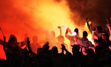 Piłkarscy chuligani, zdjęcie ilustracyjne