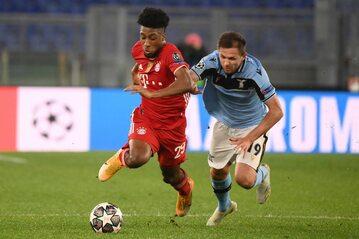Piłkarze Bayernu Monachium i Lazio Rzym