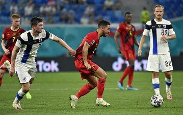 Piłkarze Belgii i Finlandii