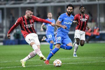 Piłkarze Milanu i Atletico Madryt
