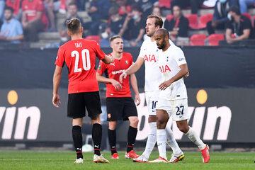 Piłkarze Rennes i Tottenhamu