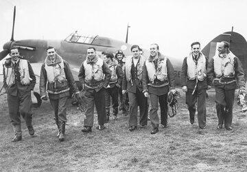 Piloci polskiego Dywizjonu 303