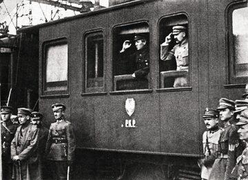 Piłsudski i Petlura zawarli sojusz militarny w maju 1920 r. w czasowej siedzibie rządu Ukrainy w Winnicy