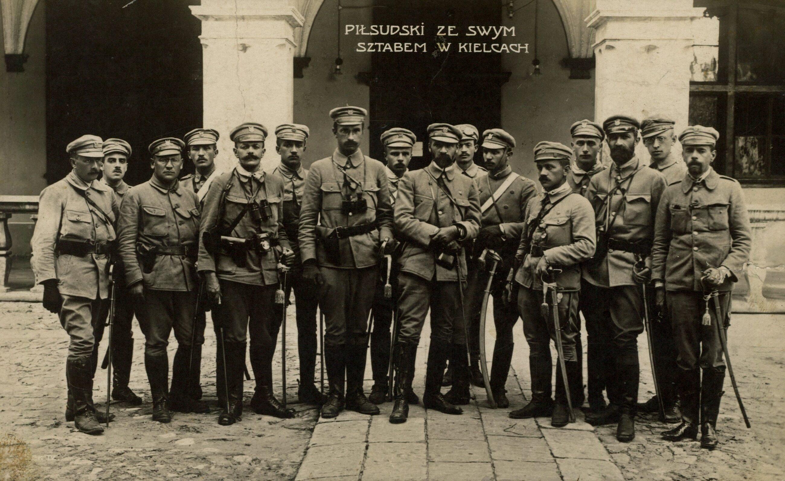 Piłsudski w Kielcach, 1914 rok