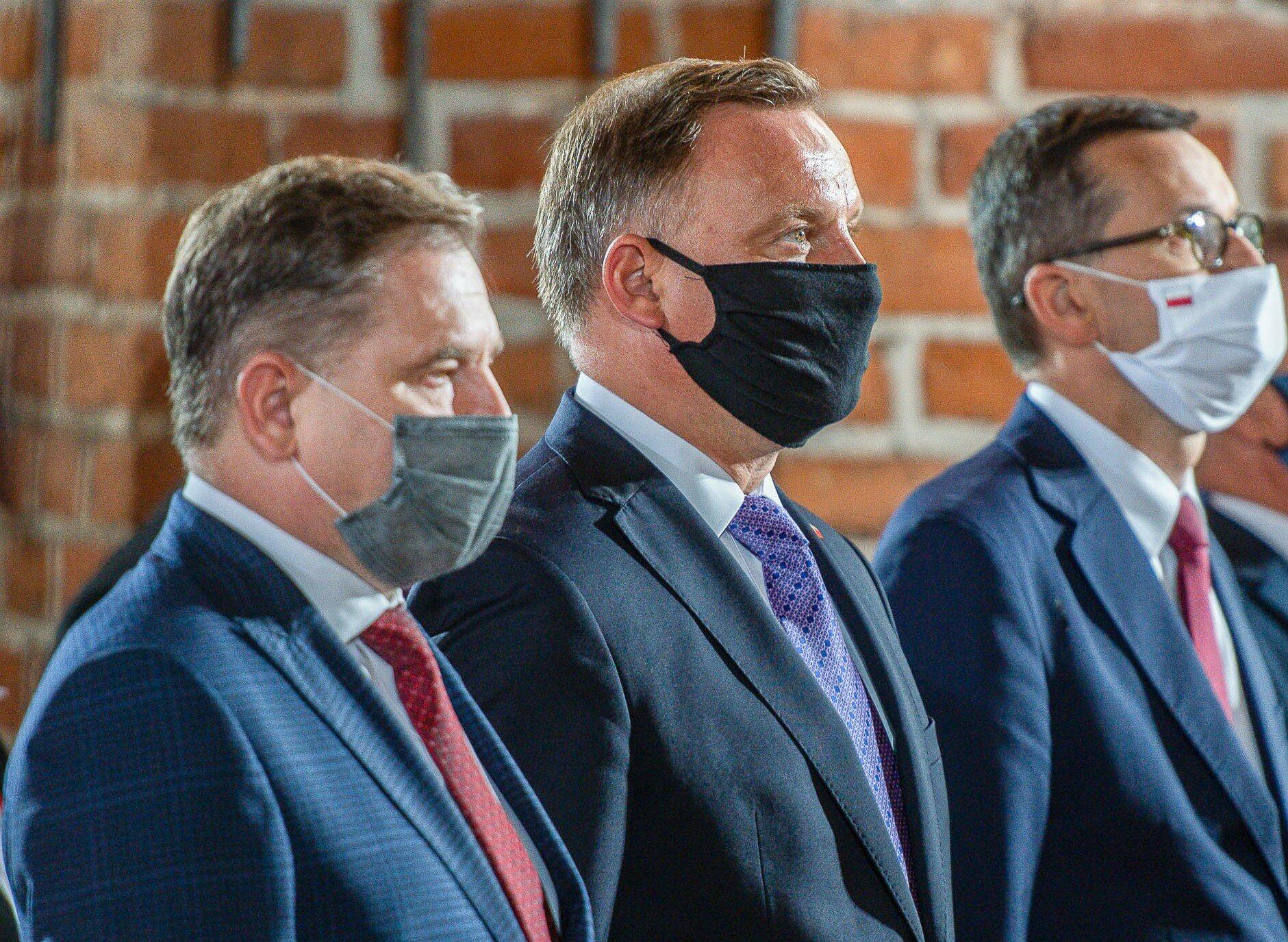 Piotr Duda ma u prezydenta dług, fot. M.Słodkowski/Newspix