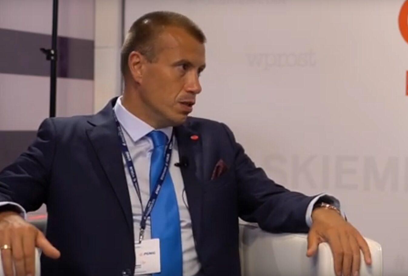 Piotr Hofman, prezes zarządu HM Inwest S.A.