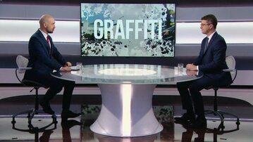 "Piotr Müller w programie ""Graffiti"""