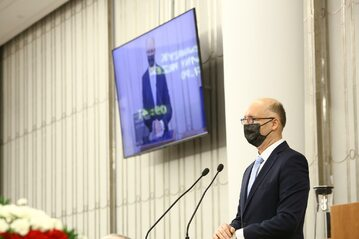 Piotr Wawrzyk w Senacie