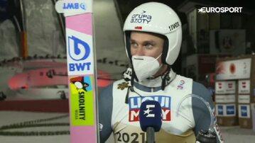 Piotr Żyła po zdobyciu mistrzostwa świata w skokach