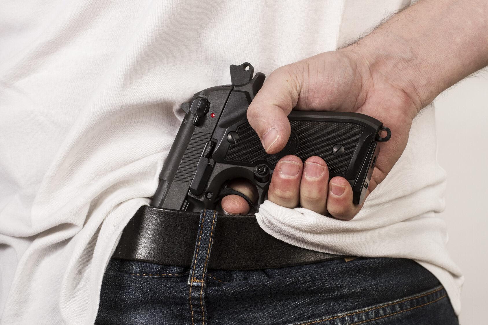 Pistolet, zdjęcie ilustracyjne