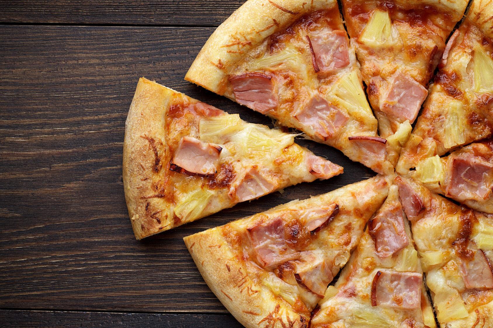 Pizza z anansem