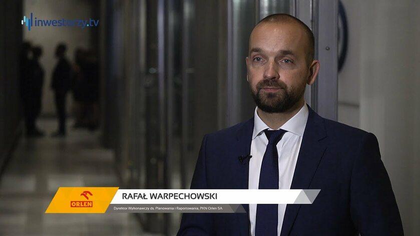 PKN Orlen SA, Rafał Warpechowski
