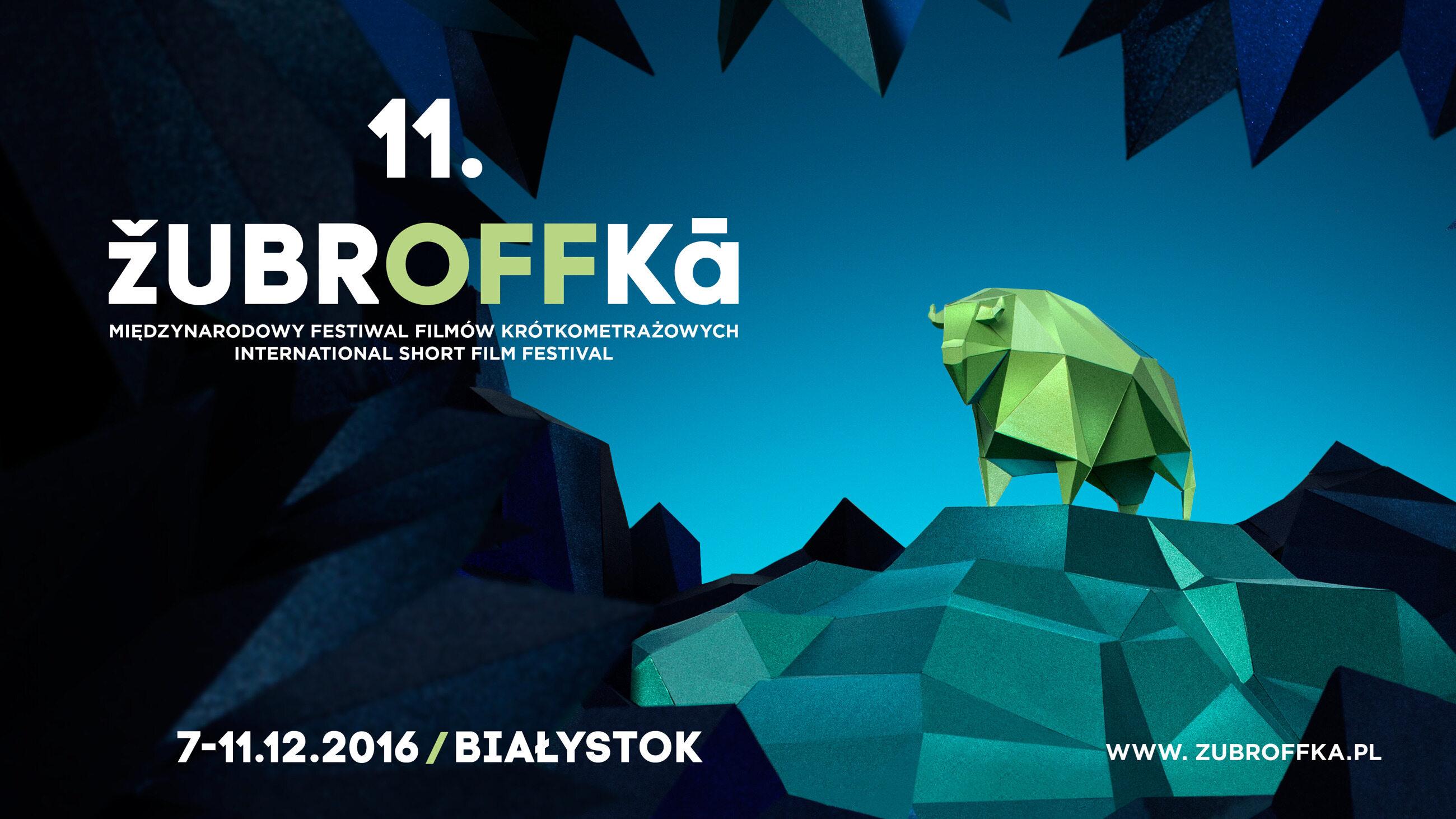 plakat 11 edycji Festiwalu ŻubrOFFka