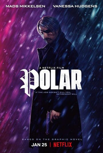 "Plakat do filmu ""Polar"""