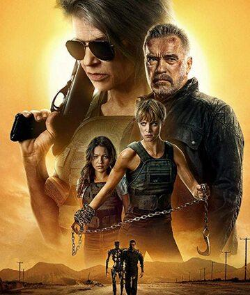"""Plakat do filmu """"Terminator: Mroczne przeznaczenie"""""""