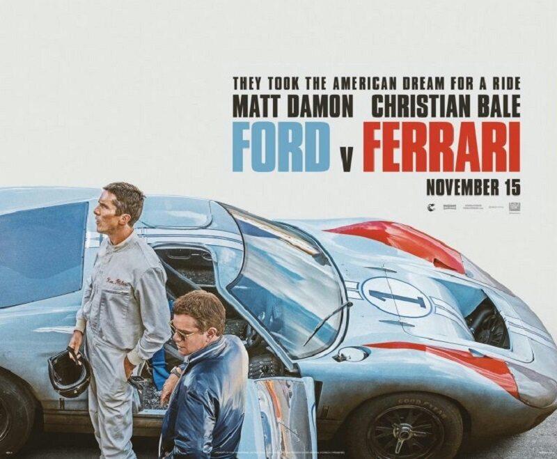 """Plakat filmu """"Ford v. Ferrari"""""""