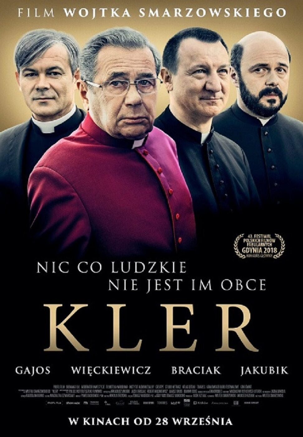 """Plakat filmu """"Kler"""""""