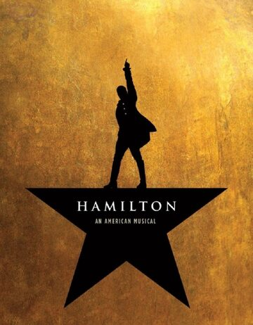 "Plakat musicalu ""Hamilton"""