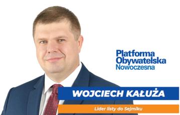 Plakat Wojciecha Kałuży