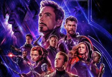 """Plakat z filmu """"Avengers: Endgame"""""""
