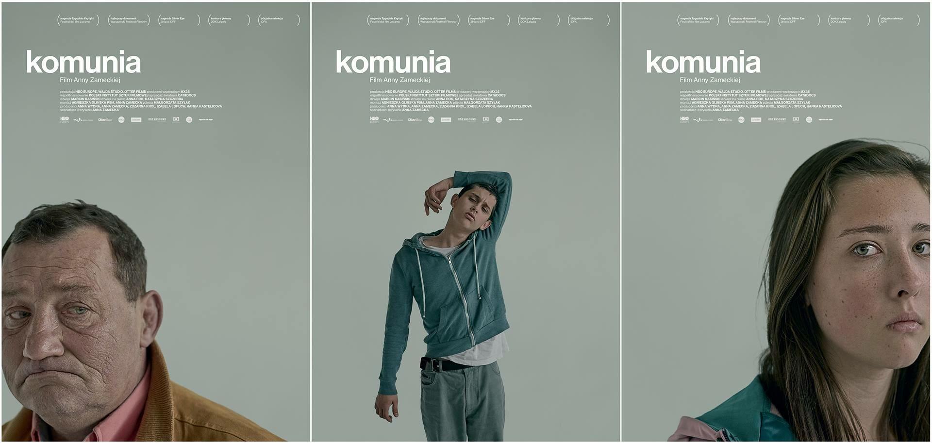 "plakaty do filmu ""Komunia"" (2016)"
