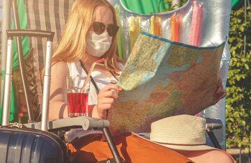 Planowanie podróży, zdjęcie ilustracyjne