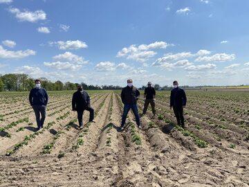 Plantatorzy ziemniaka współpracujący z PepsiCo