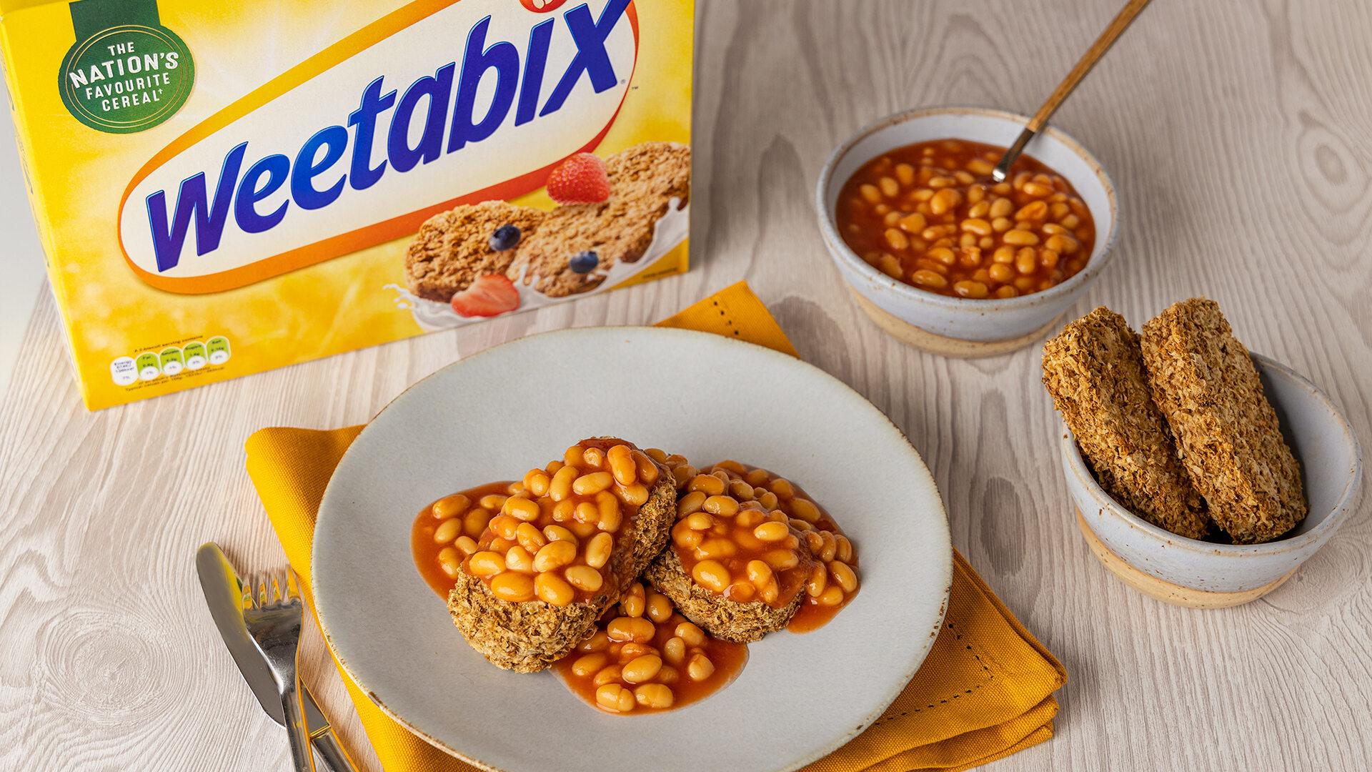 Płatki Weetabix z fasolką Heinz