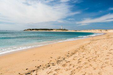 Plaża w Zahara de los Atunes, zdjęcie ilustracyjne