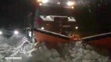 Pług walczący ze śniegiem