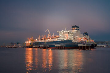 Pływajacy terminal LNG (FSRU), zdj. ilustracyjne