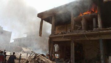 Po eksplozji w Qamishli